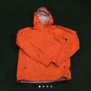 Orange Patagonia Rain Jacket Size XL